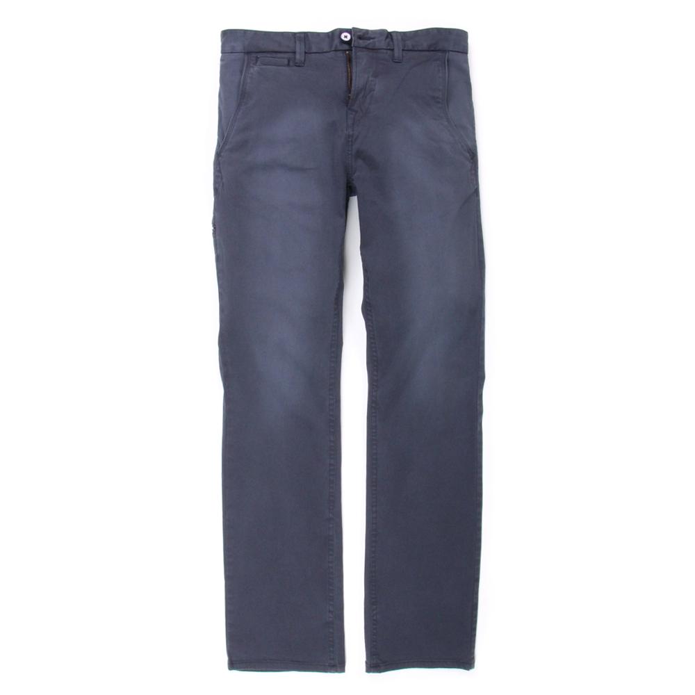 Timberland 男款寶藍色素面口袋休閒長褲