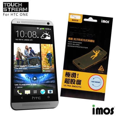 iMos Touch Stream HTC ONE 霧面保護貼