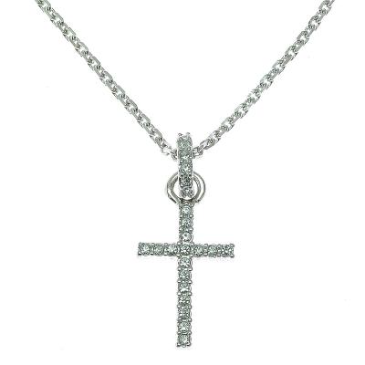 SWAROVSKI 施華洛世奇 Mini-Cross 水晶項鍊