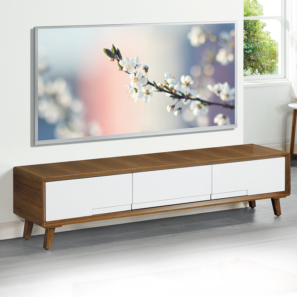 Boden-納倫斯6尺三抽電視櫃/長櫃-180x40x45cm