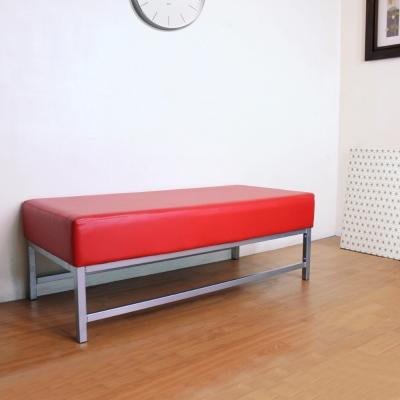 Dr.DIY 厚型15公分泡棉椅座(皮面)休閒椅/沙發椅(鮮紅色)-DIY