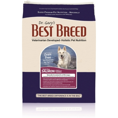 BEST BREED貝斯比 全齡犬無穀鮭魚+蔬果配方 犬飼料 6.8kg