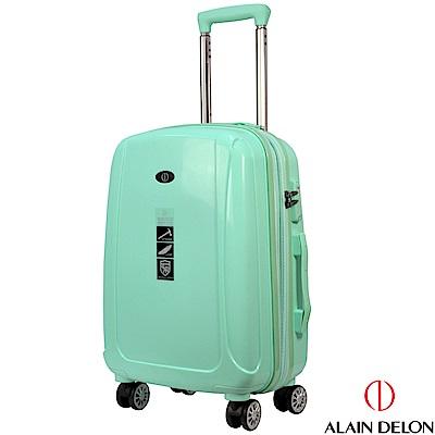 ALAIN DELON 亞蘭德倫 20吋旅者風情系列旅行箱(藍綠)