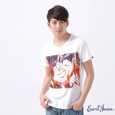 Earl Jean-柵欄玫瑰T-Shirt