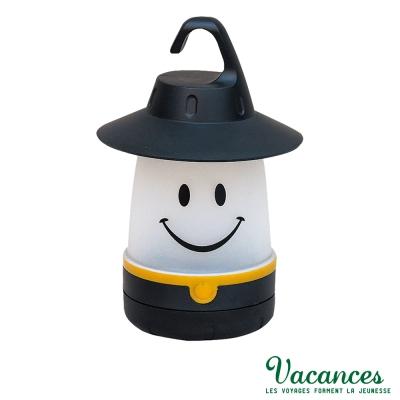 【VACANCES】日系 世界 黑色 微笑 LED 露營燈