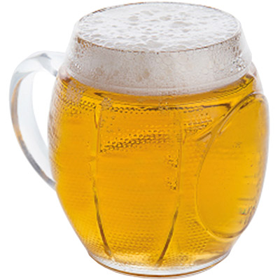 EXCELSA Sport造型啤酒杯(橄欖球650ml)