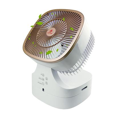 勳風 自然風3D氣流負離子循環扇創風機(HF-B846DC)夜燈 精油盒