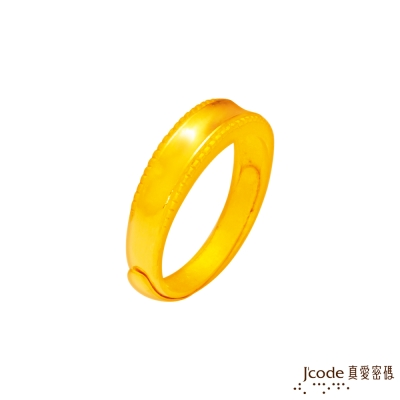 J'code真愛密碼 事業開展黃金男戒指