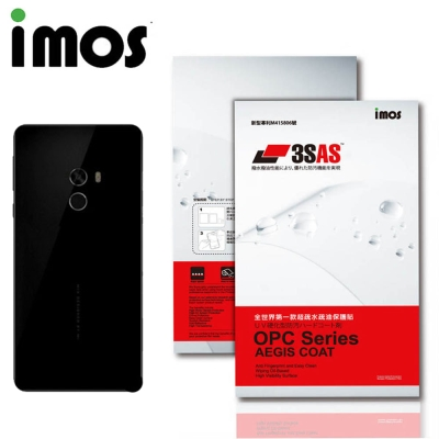 iMos 小米 小米MIX 2 3SAS 疏油疏水 背面保護貼