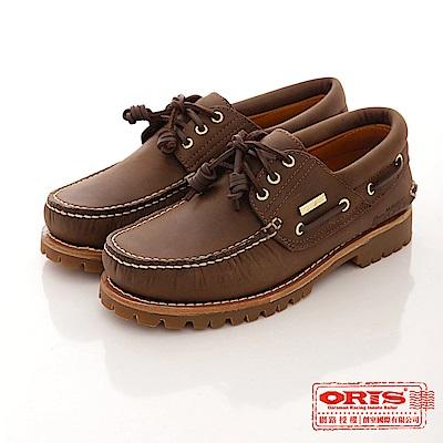 ORIS  女款 經典限量999雷根大底帆船鞋款~999C03瘋馬皮