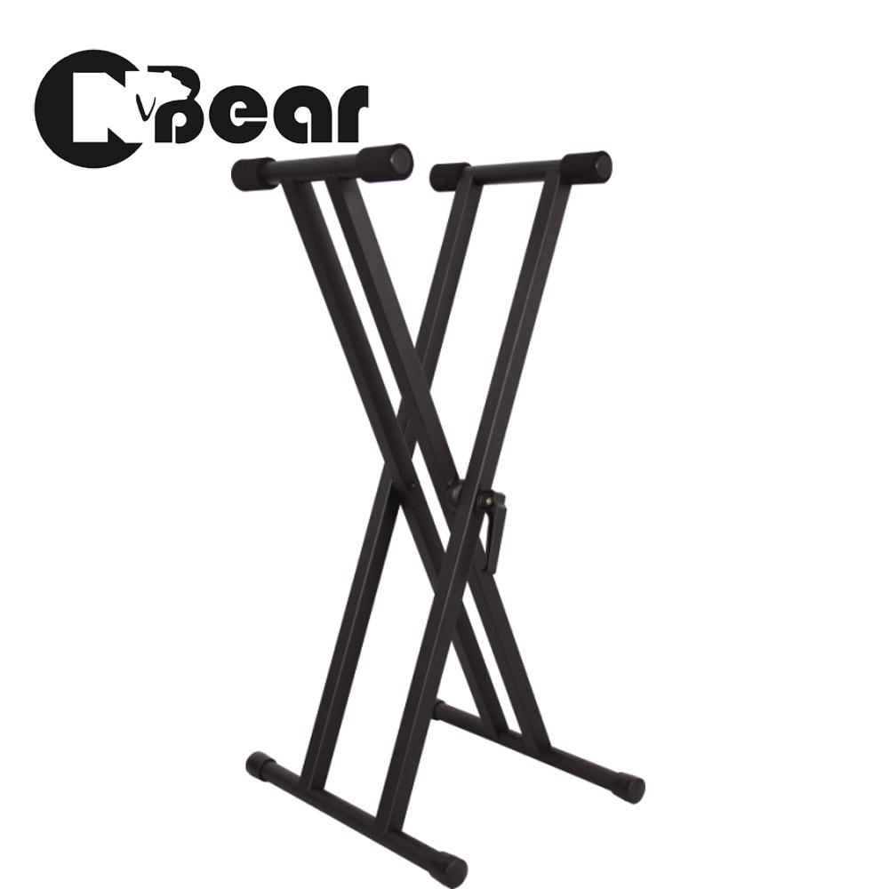 CNBear K-721B 雙交叉快速卡榫鍵盤琴架
