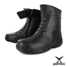 PAMAX帕瑪斯-高抓地力氣墊安全鞋-P01001H★機車鞋造型靴★男
