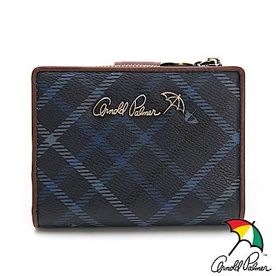 Arnold Palmer- 二折短夾 摩洛哥系列-藍色