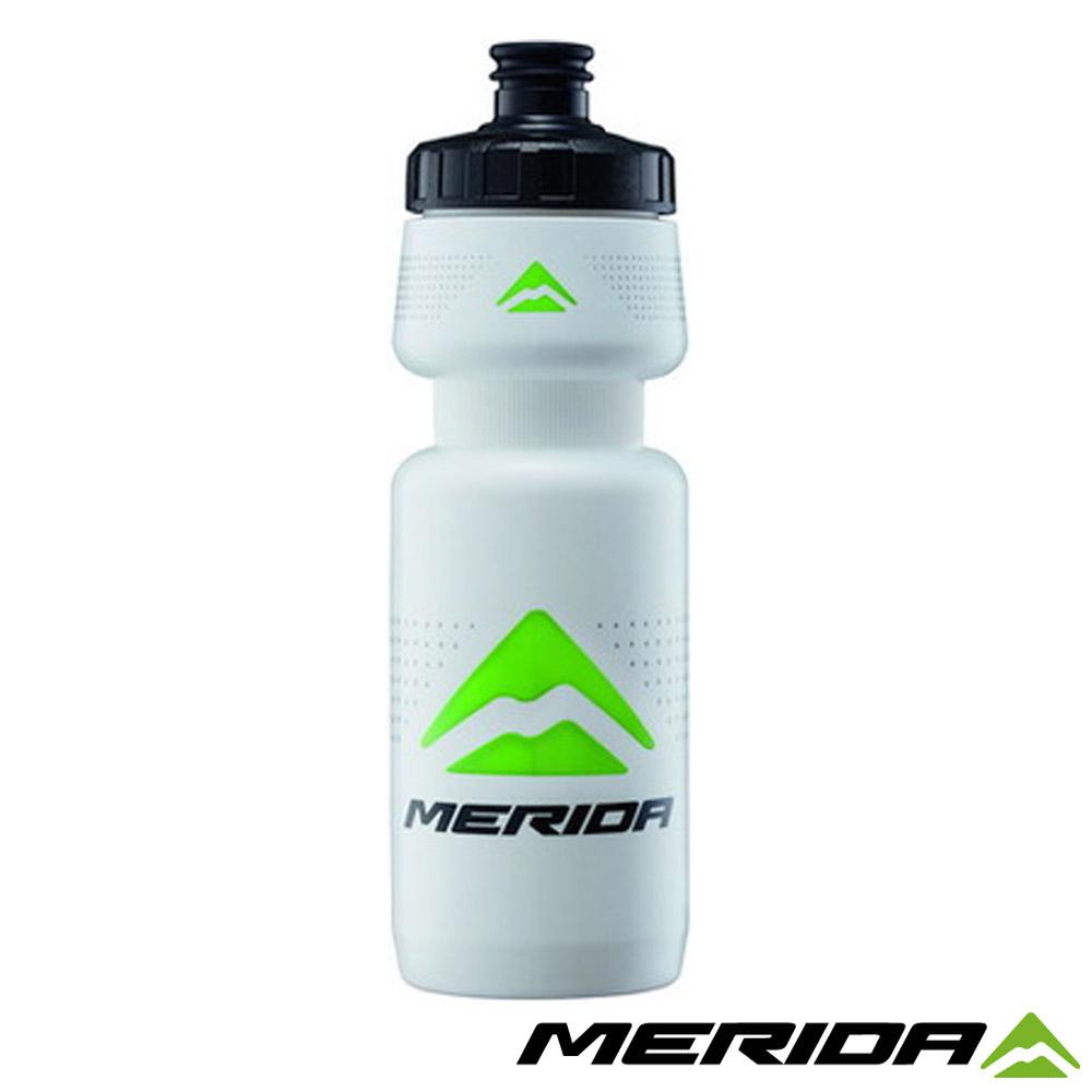 《MERIDA》美利達自行車700cc水壺2777 白/黑/綠Logo