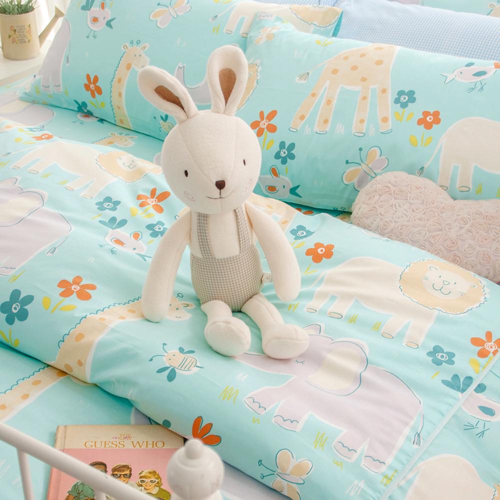 OLIVIA  肯亞冒險 單人床包枕套兩件組