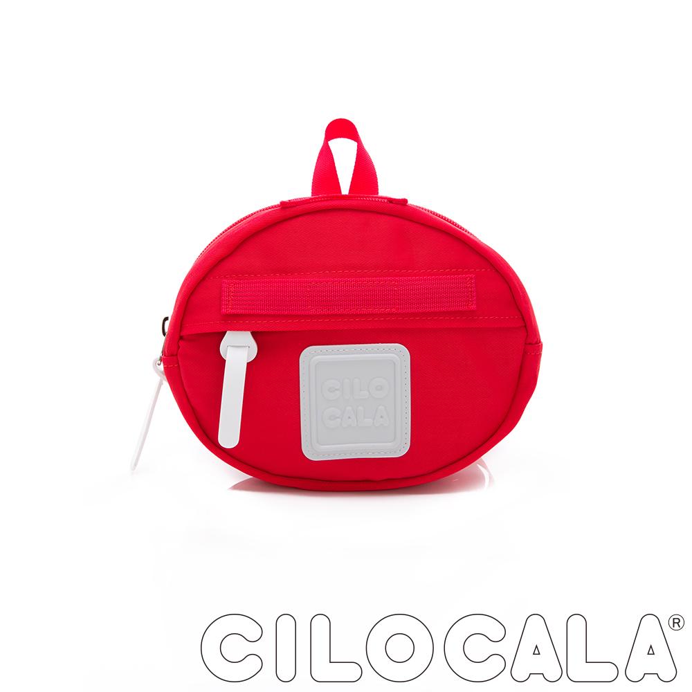 CILOCALA 亮彩尼龍防潑水MINI TAMAGO側背包(小)  紅色