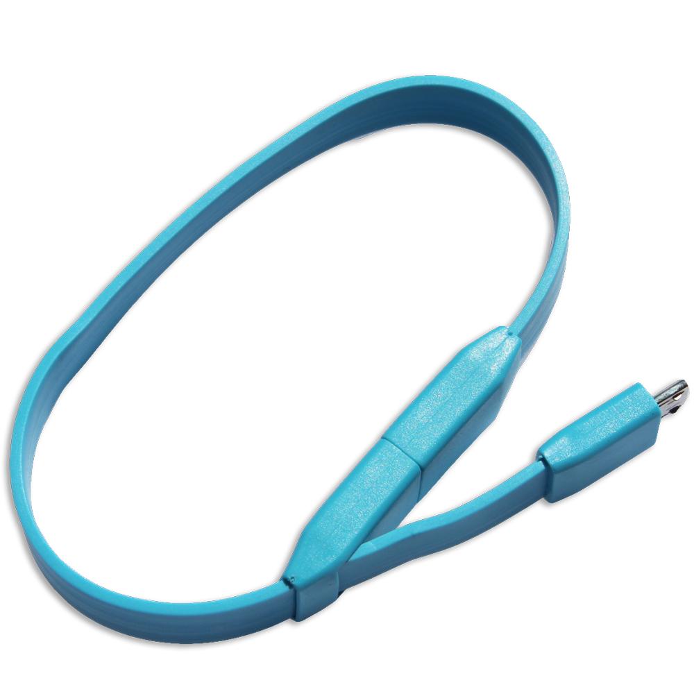 LineQ Micro USB 手環式粉彩傳輸充電線