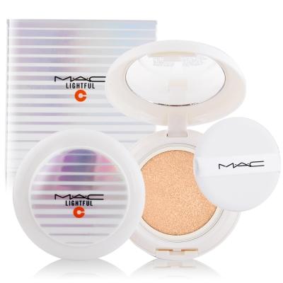M-A-C-亮白C氣墊粉餅SPF50-12g贈試用