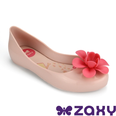 Zaxy 巴西 女童 NEW GARDEN休閒娃娃鞋(淺粉)