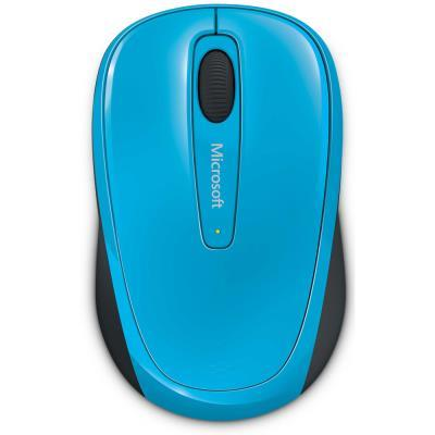 Microsoft 微軟 無線行動滑鼠 3500(藍色)