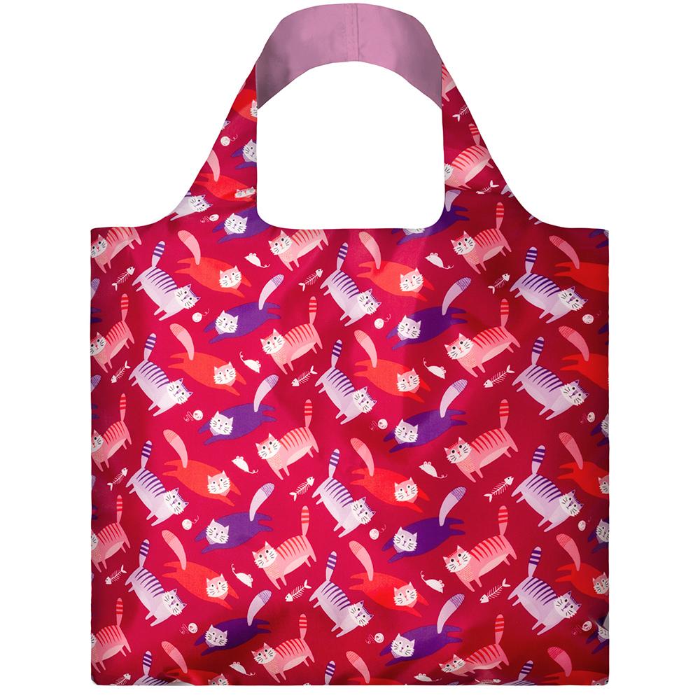 LOQI 春捲包│貓 ASCA購物袋