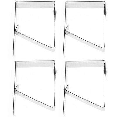 EXCELSA Xline不鏽鋼桌布固定夾4入
