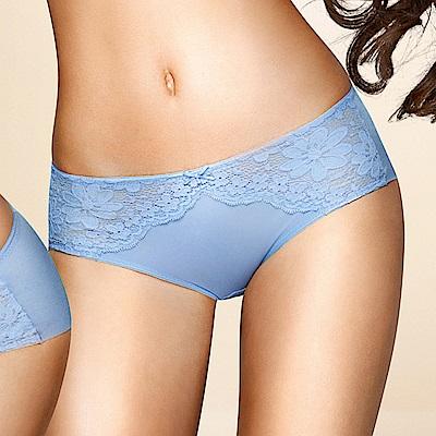 黛安芬-記憶枕系列內衣M-EL平口內褲(活力湛藍)