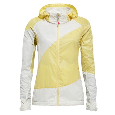 hilltop山頂鳥-女款抗UV超撥水拼接配色外套