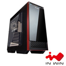IN WIN 503 2大4小電腦機殼-紅黑