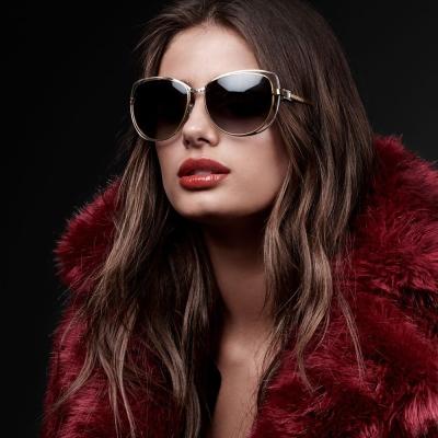 MICHAEL KORS太陽眼鏡 造型貓眼款/金#MK1013 112011