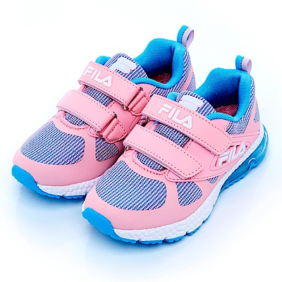FILA KIDS大童氣墊MD慢跑鞋-粉2-J425S-591