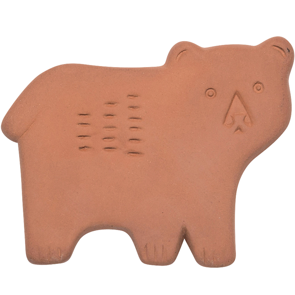 NOW 赤陶食材防潮片(北美熊)