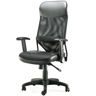 aaronation 第三代透氣尼龍網背主管椅(i-RS535SGA-B)