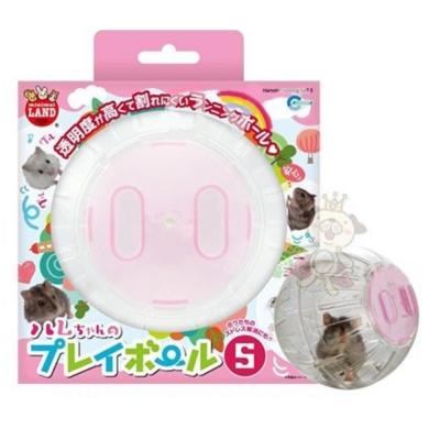 日本Marukan 鼠鼠跑跑 運動球 透明滾球 S號【ML-113】