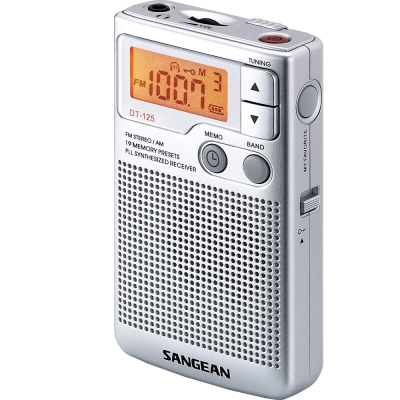 SANGEAN AM/FM口袋型收音機 (DT-125)