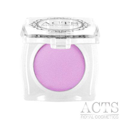 ACTS維詩彩妝 霧面純色眼影 淡紫5300