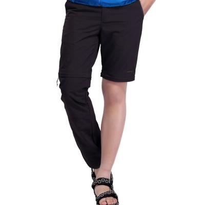 PUSH!機能面料褲乾透氣抗紫外線可拆兩截褲長褲短褲五分褲男款