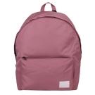 agnes b. 白SPORT b.標籤拉鍊後背包-粉色
