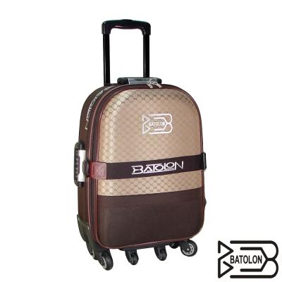 BATOLON 20吋典雅緹花行李箱