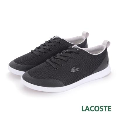 LACOSTE-女用運動休閒鞋-黑色