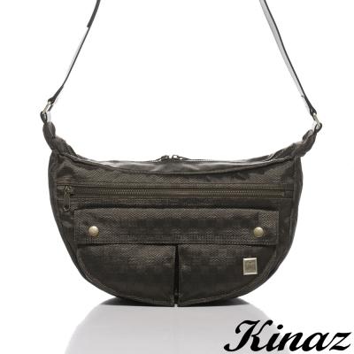 KINAZ-navy-回憶氣息斜背包-復刻倫敦系列-特賣品
