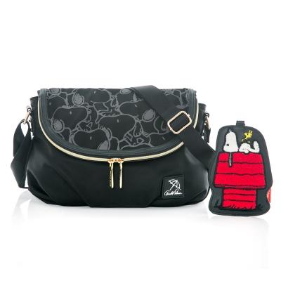 Arnold Palmer x Snoopy- 翻蓋斜背包 Soft Bag 休閒軟包系列