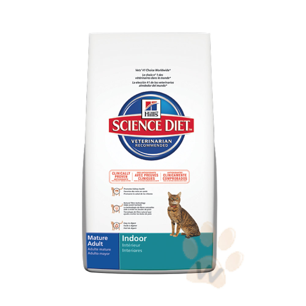 希爾思 室內貓-室內熟齡貓專用配方15.5磅【8874】