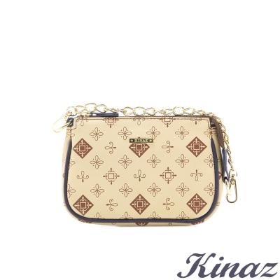 KINAZ-歡樂歲月-品嚐甜蜜萬用零錢包-奶油米白