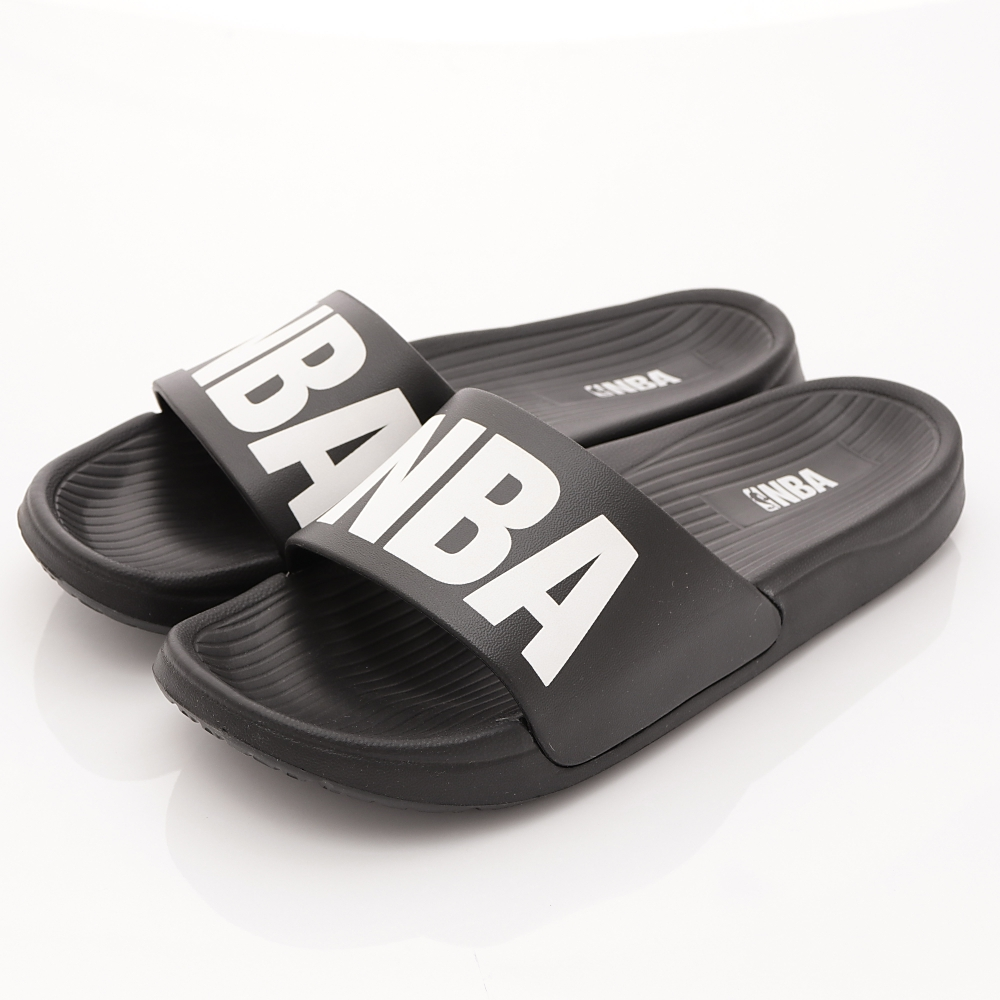 NBA美國職籃超輕量拖鞋款SE4779黑親子段HN