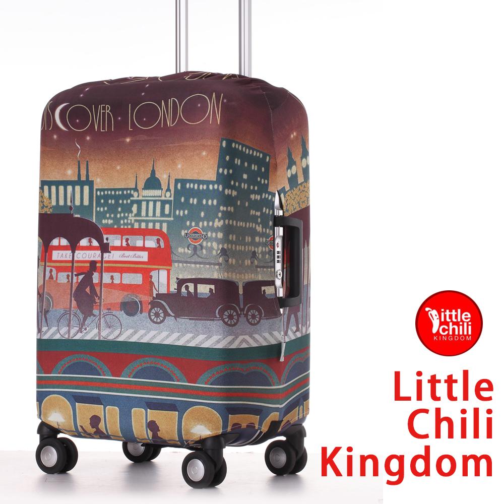 LittleChili行李箱套532-倫敦彩L