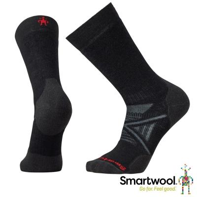 SmartWool 羊毛襪 PhD北歐中級減震中長襪 黑色