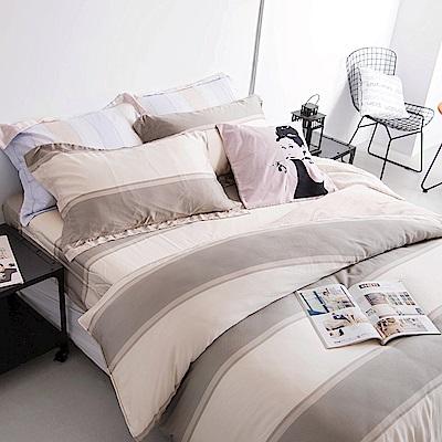 OLIVIA  薩格  標準雙人床包歐式枕套組