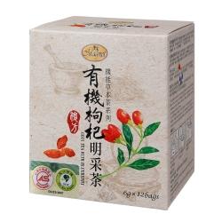 曼寧 有機枸杞明采茶(6gx12入)
