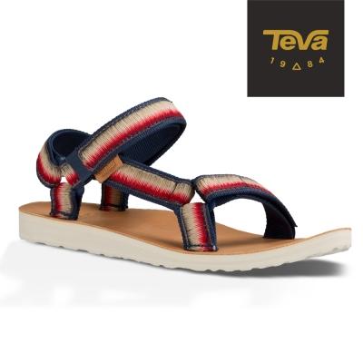 TEVA 美國-女 Original Universal 經典緹花涼鞋 (彩虹藍)